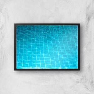 Pool Ripples Giclee Art Print