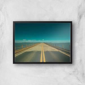 Ocean Bridge Giclee Art Print