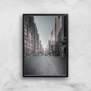 City Crossing Giclee Art Print