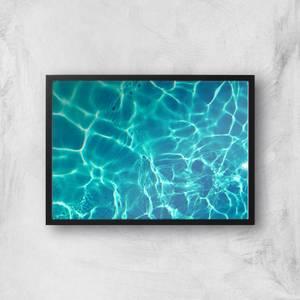 Light Reflecting Pool Giclee Art Print