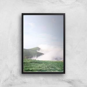 Cloud Path Giclee Art Print