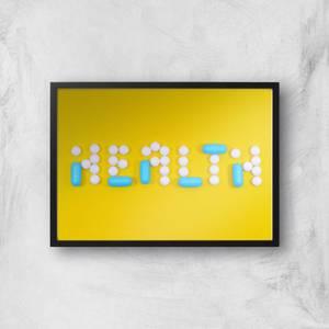 Health Pills Giclee Art Print