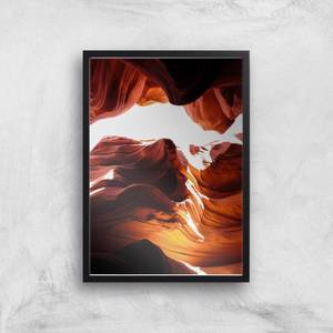 Canyon From Below Giclee Art Print