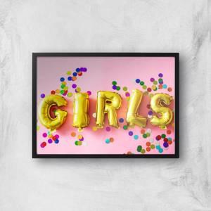 Party Girls Giclee Art Print