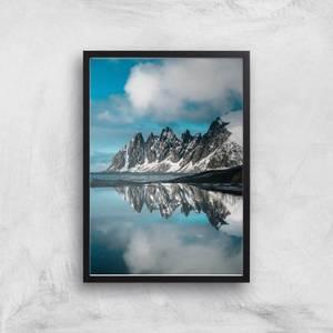 Mountain Tundra Giclee Art Print
