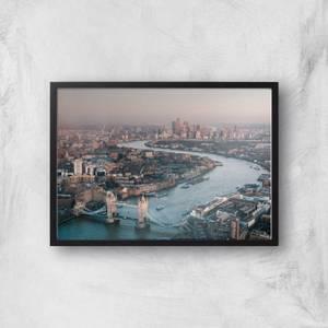 London City Giclee Art Print
