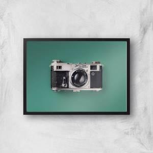 Vintage Camera Giclee Art Print