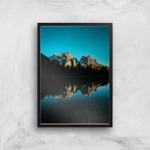 Mountain Lake Giclee Art Print