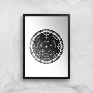 Weather Dial Giclee Art Print