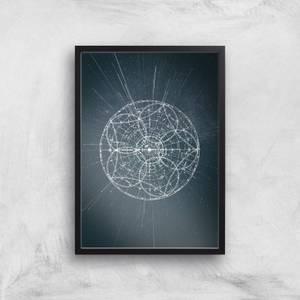 Sky Map Giclee Art Print