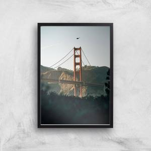 Golden Gate Bridge Giclee Art Print