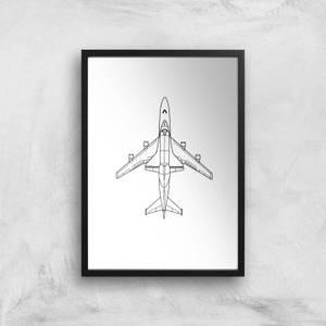 Aeroplane Giclee Art Print