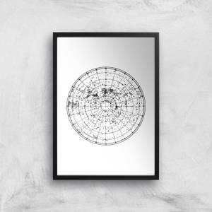Hemisphere Sky Giclee Art Print
