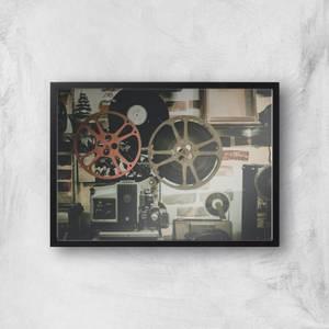Film Reel Giclee Art Print