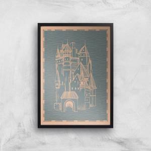 Castle Giclee Art Print