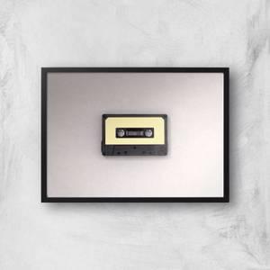 Cassette Tape Giclee Art Print