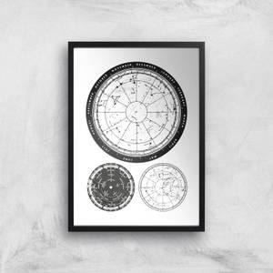 Calendar And Weather Dials Giclee Art Print