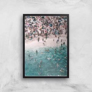 Beach Holidays Giclee Art Print