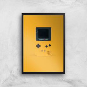Hand Held Game Console Giclee Art Print