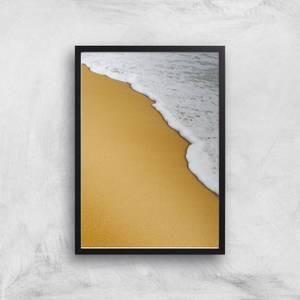 Sea Foam Giclee Art Print