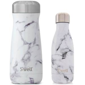 S'well Marble-ous Bottle Set (Worth £60)