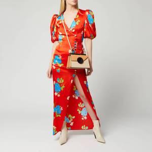 De La Vali Women's Ohio Long Dress - Red Floral