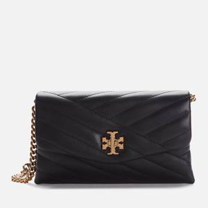 Tory Burch Women's Kira Chevron Chain Wallet - Black