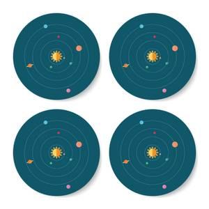 Solar System Coaster Set