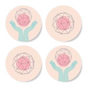 Enlightenment Coaster Set