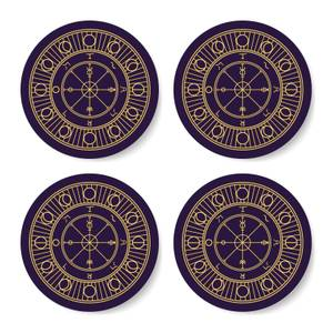 Wheel Of Fortune Coaster Set