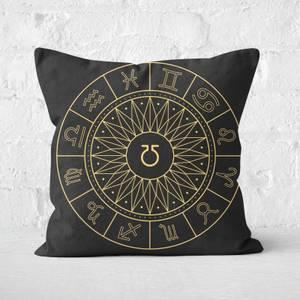 Decorative Horoscope Symbols Square Cushion