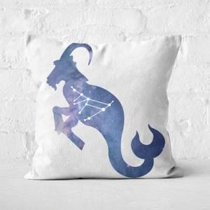 Cosmic Capricorn Square Cushion