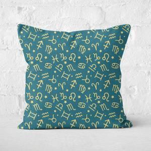 Horoscope Pattern Square Cushion