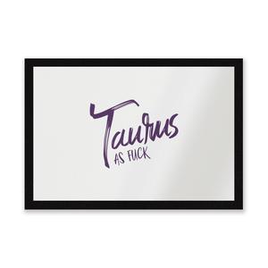Taurus As Fuck Entrance Mat