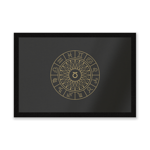 Decorative Horoscope Symbols Entrance Mat