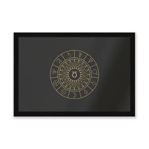 Decorative Planet Symbols Entrance Mat