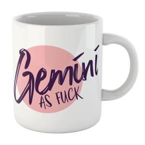 Gemini As Fuck Mug