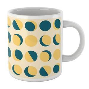 Moon Phase Pattern Mug