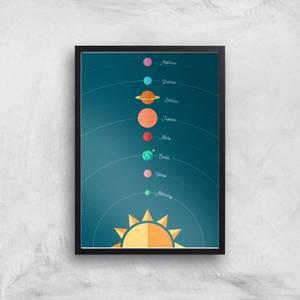 Planetary Alignment Giclée Art Print