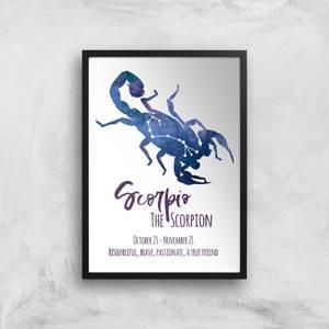 Scorpio The Scorpion Giclée Art Print