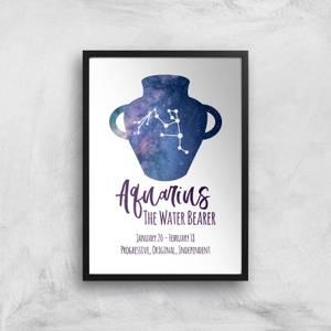 Aquarius The Water Bearer Giclée Art Print