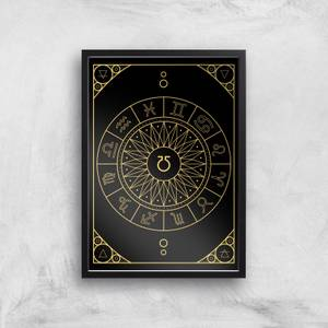 Decorative Horoscope Symbols Giclée Art Print