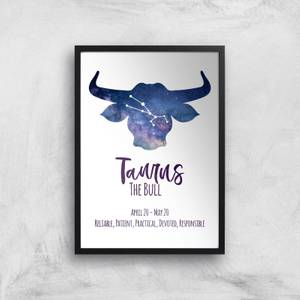 Taurus The Bull Giclée Art Print