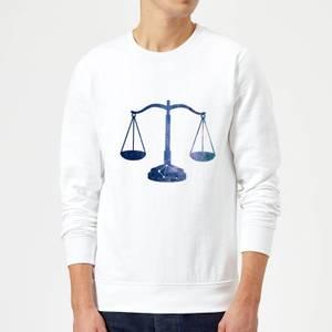 Libra Sweatshirt - White