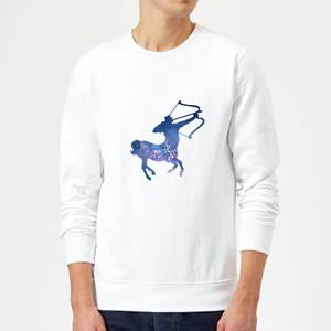Sagittarius Sweatshirt - White