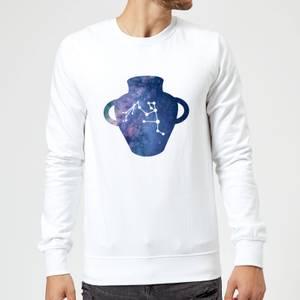 Aquarius Sweatshirt - White