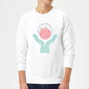 Enlightenment Sweatshirt - White