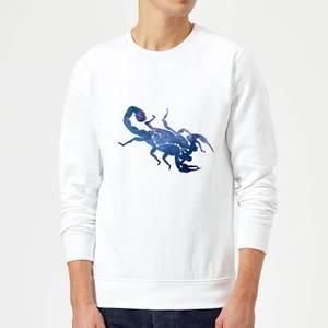 Scorpio Sweatshirt - White