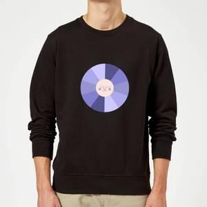 Colours Of The Night Sweatshirt - Black