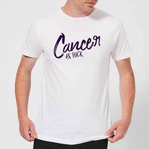 Cancer As Fuck Men's T-Shirt - White